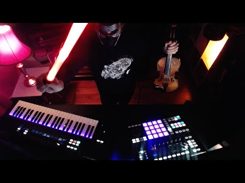 Star Wars - The Force Awakens - Rey's Theme - Violin vs. Maschine cover