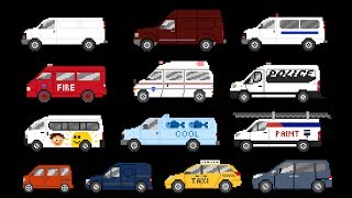 Vans - Street, Commercial & Emergency Vehicles - The Kids