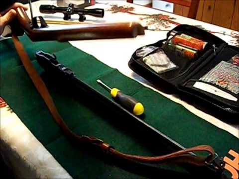 How to Break down and clean a Marlin Model 60 .22