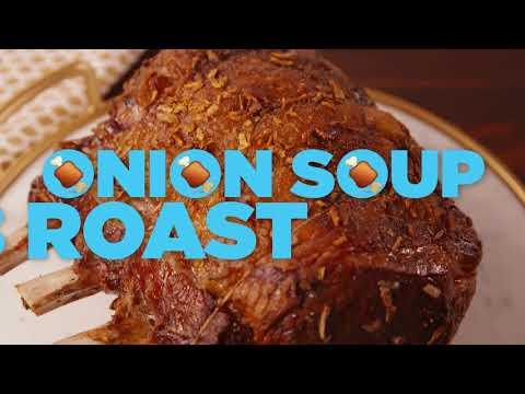 How To Make Onion Soup Rib Roast | Delish