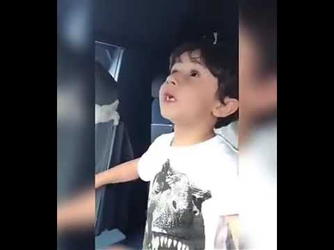5 year old boy amazing knowledge about plane.