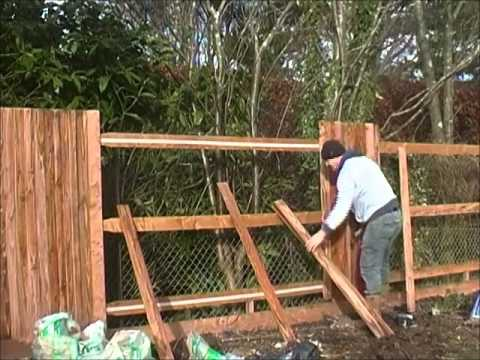 how to align fencing pales perfectly and save time and money