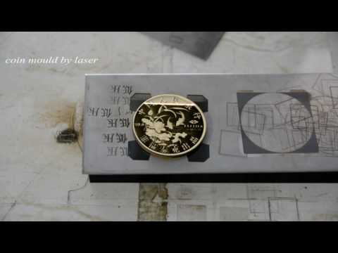 coin mould by 3D laser engraving