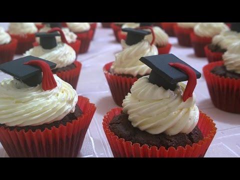 Cupcakes Egresados, decoración de Cupcakes,