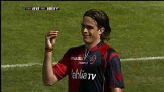 Cagliari-Milan=2-3 (Serie A - 32a Giornata - Goals-Sintesi-Highlights) SKY HD