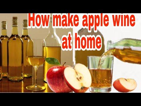 Make APPLE WINE for HEART PATIENT, सेब की वईन बनाये