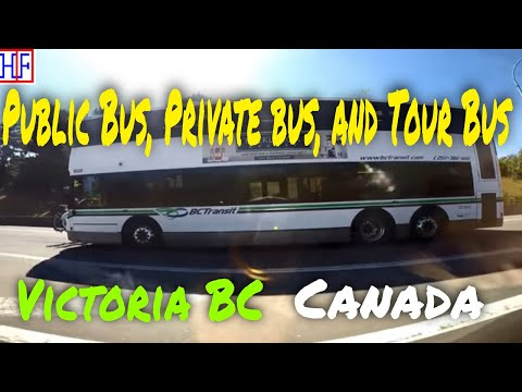 Victoria BC | Bus Services - Getting Around | Travel Guide | Episode# 2