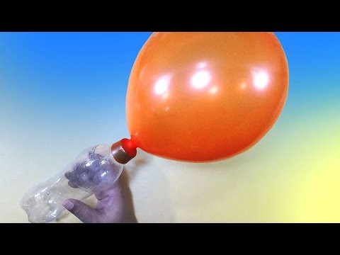 How To Make A Balloon Pump With Plastic Bottle |