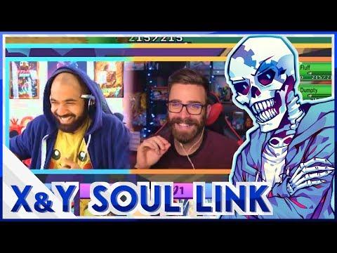 TheKingNappy and ShadyPenguinn's Pokemon X & Y Soul Link Randomized Nuzlocke Highlights