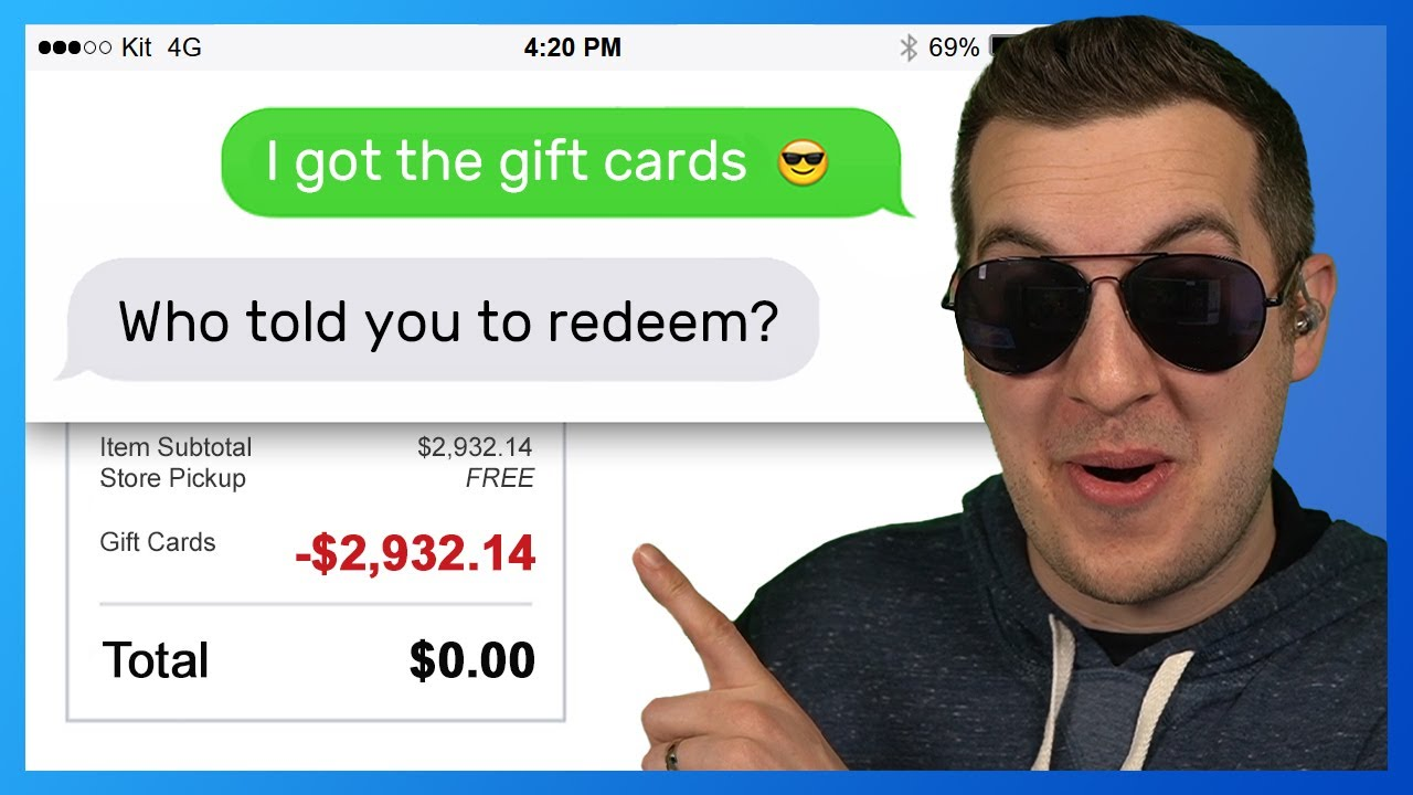 Scammers Wanted $3,000 - They Watched Me Spend It All