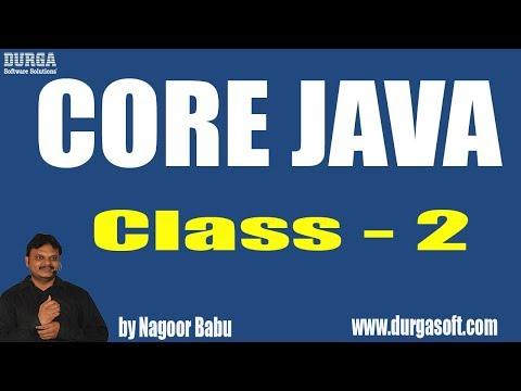 Learn Core Java Programming Tutorial Online Training by Nagoor Babu Sir On 30-03-2018