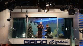 Rapping Brothers Show Off Their Skills in the GEICO Skybox