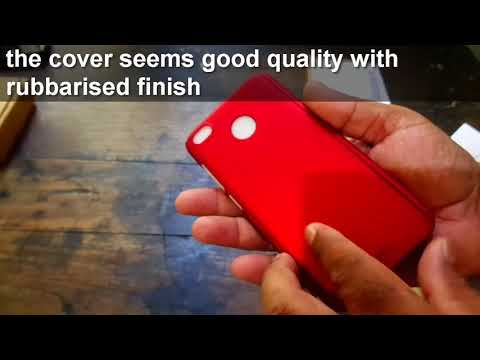iPaky 360 Degree Case Cover with Tempered Glass unboxing & installation for Redmi 4