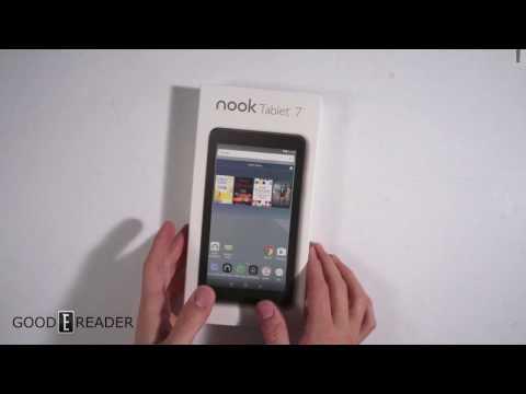 Nook 7 Tablet - Unboxing