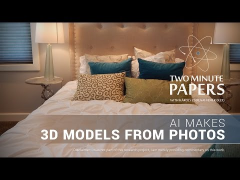 AI Makes 3D Models From Photos | Two Minute Papers #122