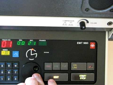 EMT 980 Rare CD Player