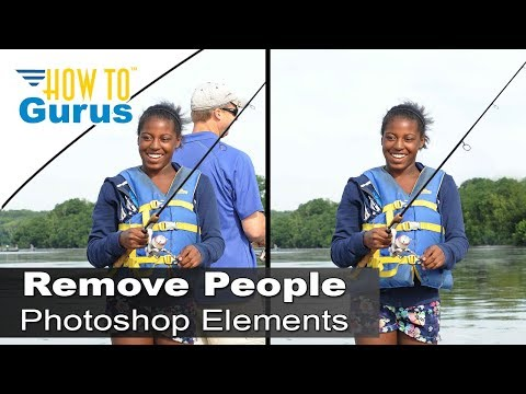 How to Remove People and Objects from a Photo in Adobe Photoshop Elements 2018 15 14 13 12 Tutorial