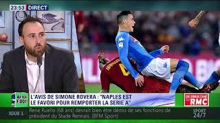 After Foot du lundi 16/10 – Partie 6/6 - L'avis tranché de Simone Rovera sur Naples