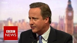 David Cameron: Brexit is a risk we can avoid - BBC News