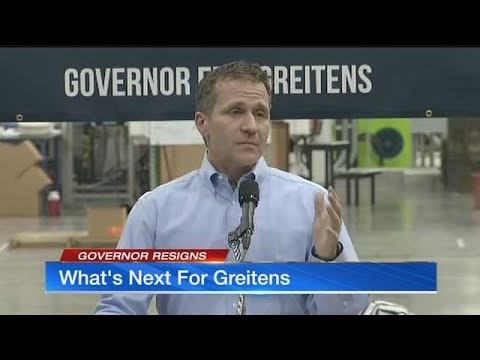 Missouri Gov. Eric Greitens resigns, Jackson County prosecutor says 'investigation continues'