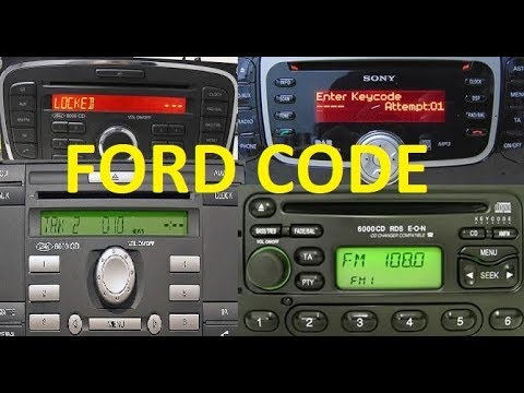 FORD 6000CD - 4000,5000,4500,3000 how RESET LOCKED13 or Unlock FORD V , M serial Radio Decode