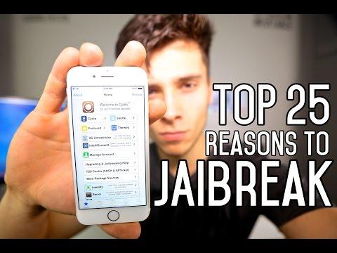 Top 25 Reasons To Jailbreak iOS 8