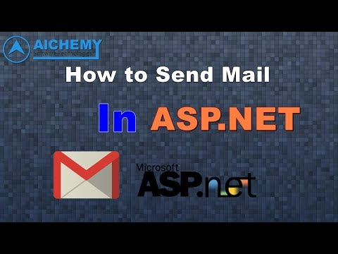 How to send mail through smtp in ASP.NET [HINDI] | By Alchemy software technologies