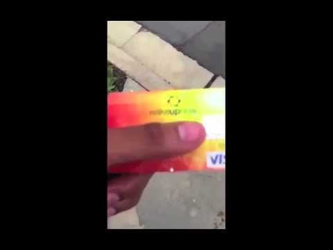Wake Up Now Debit card proof