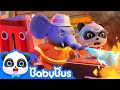 Super Panda Guardians Rescue Elephants Nose Super Panda Rescue Team 1 BabyBus