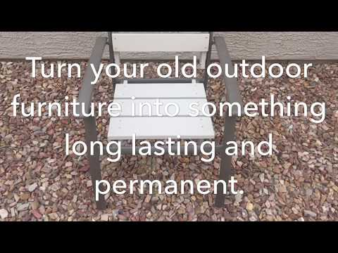 DIY - Fix Your Old Outdoor Furniture