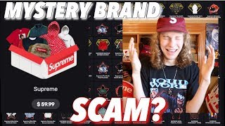 MYSTERY BRAND LIVE UNBOXING! SCAM OR SUCCESS?