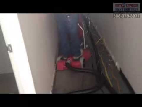 Remove Bad Odor from Flooded Carpet & Drywall - Water Damage San Diego