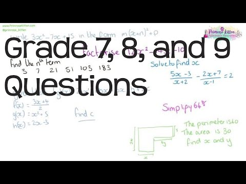 50 grade 7/8/9 questions to boost your GCSE maths grade - Algebra