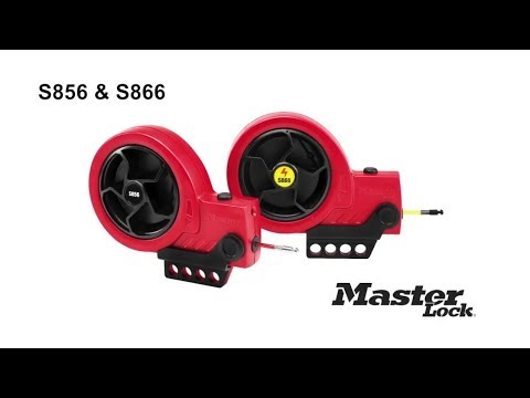 New Master Lock Nos. S856 and S866 Retractable Cable Lockout Devices