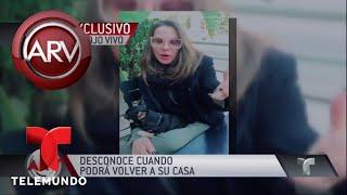 Kate del Castillo escapó del fuego en Los Angeles | Al Rojo Vivo | Telemundo