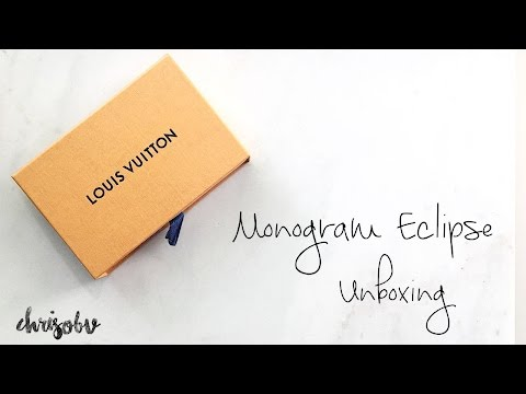 Louis Vuitton // Monogram Eclipse Porte Cartes Double Unboxing