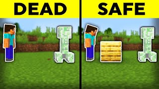 19 Tips That Could Save Your Life in Minecraft
