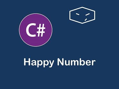 happy number in c#
