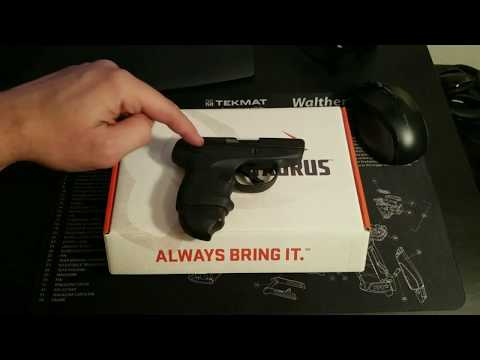 Taurus SPECTRUM .380 REVIEW 2018 (Actual Owner)
