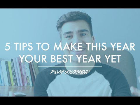 5 Tips to Make 2016 Your Best Year Yet!