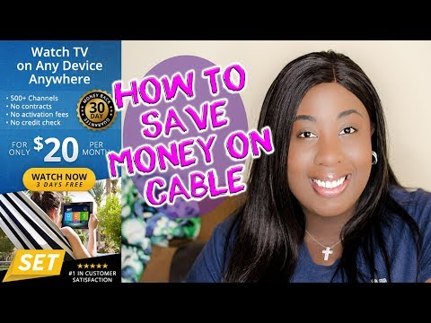 How To Save Money On Your Cable Bill with SET TV NOW