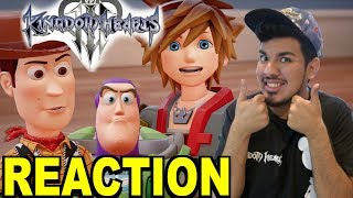 Kingdom Hearts 3 D23 2017 Toy Story World Trailer Reaction