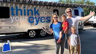HUGE FAMILY CAMPING ANNOUNCEMENT! (New RV TOUR!)