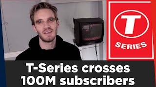 T-Series Reacts On Crossing 100mn Subscribers on YouTube