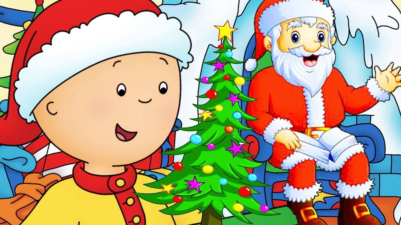 Caillou Deutsch ★ Caillou Weihnachtsspecial | Cartoons auf Deutsch | Neue Ganze Folge | HD 2018 ✔