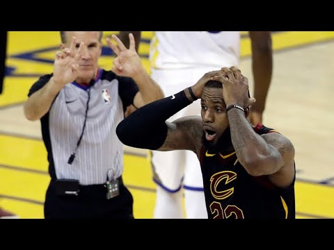 NBA Refs CHEAT The Cavs? JR Smith, KD, Where Are You??