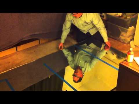 Cutting a Mirror - Fricking DIY