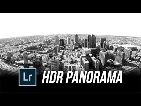 How to Create HDR Panorama in Lightroom