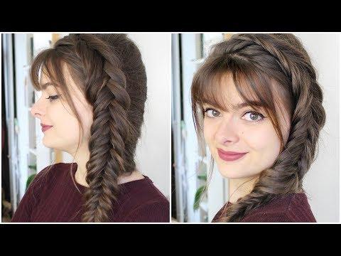 How To Dutch Fishtail Braid Your Own Hair