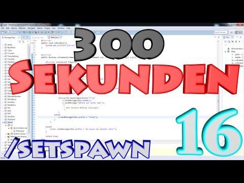 300Sekunden | Bukkit Coding#16 | /setspawn, Config